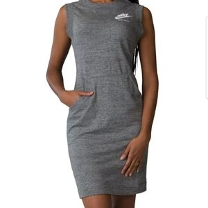 NIKE ☆ORGANIC COTTON POLY SLEEVELESS DRESS